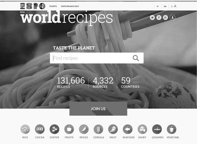 Expo worldrecipes traduzioni the office bn